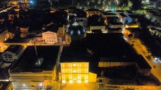 centro l'aquila drone by night Alessandro Santilli (citare)