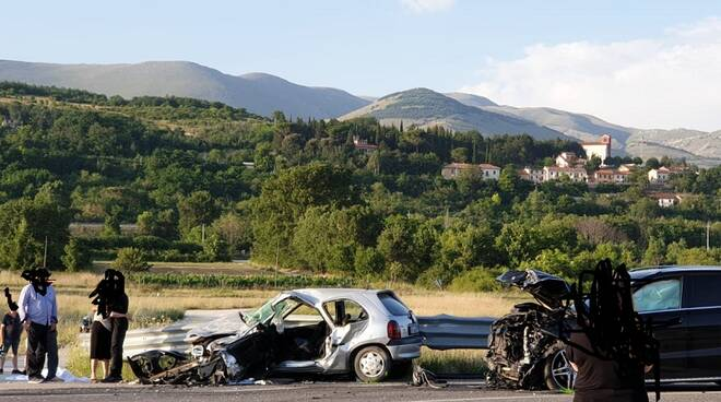 incidente tiburtina Aielli