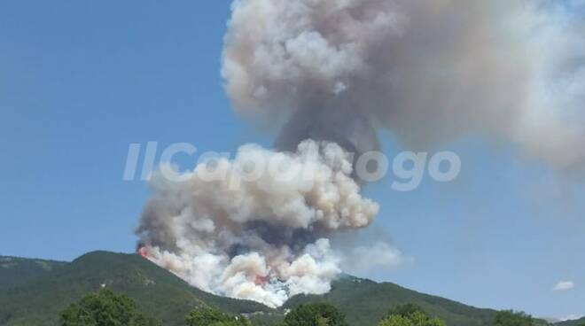 incendio rischia