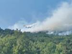 incendio arischia canadair