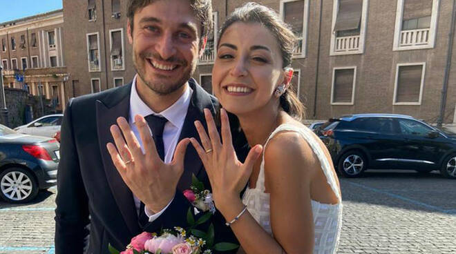 'L'Allieva', Lino Guanciale si è sposato: la foto delle nozze!