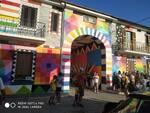 Aielli murales e turisti