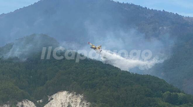 incendio arischia
