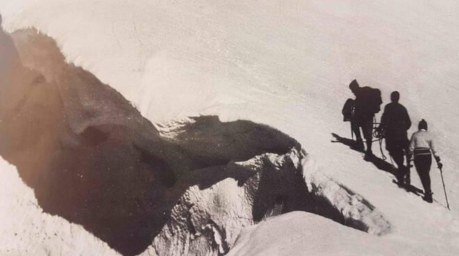 soccorso alpino foto storica