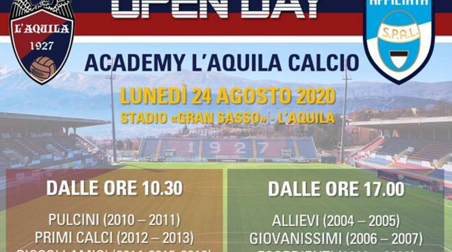 open day academy l'aq calcio
