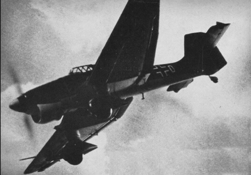 stuka aereo di caccia tedesco
