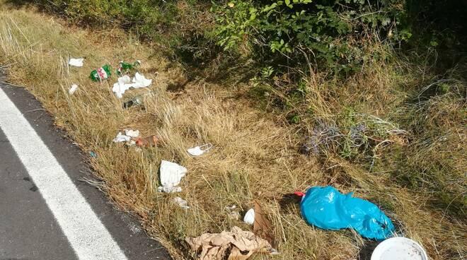 rifiuti parco nazionale d'abruzzo