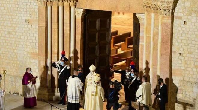 apertura porta santa perdonanza 2020