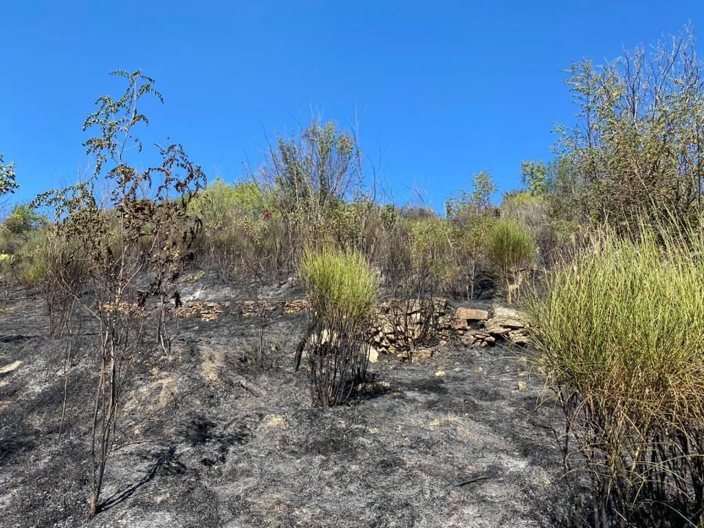 incendio carsoli pietrasecca