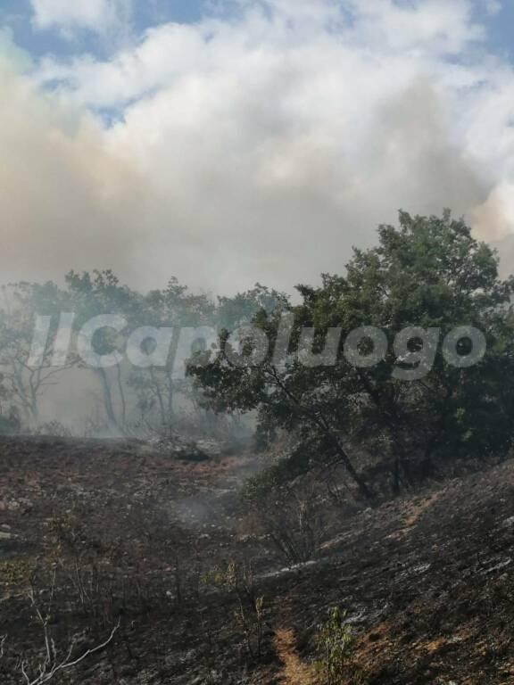 incendio molina valle subequana