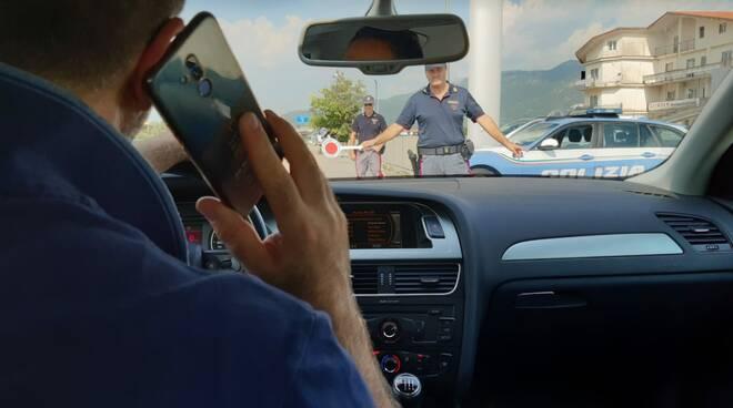 polizia stradale guida controlli