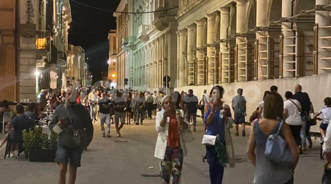 Turisti L'Aquila centro perdonanza 2020