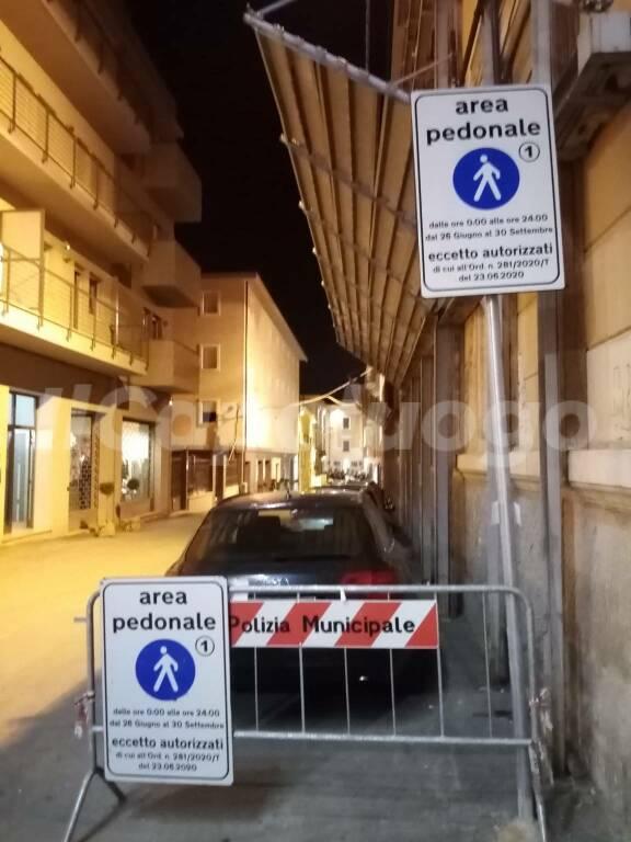 auto aree pedonali zone