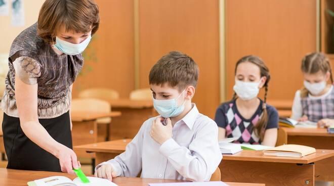 mascherina a scuola