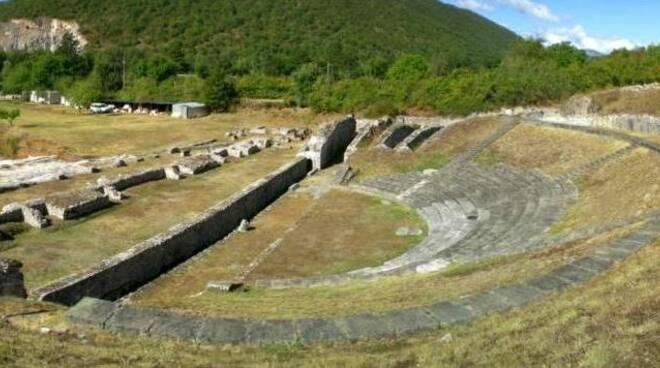 area archeologica amiternum