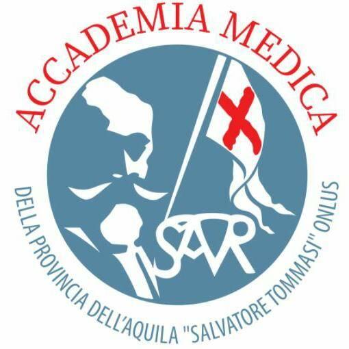 logo accademia medica della Provincia dell'Aquila onlus
