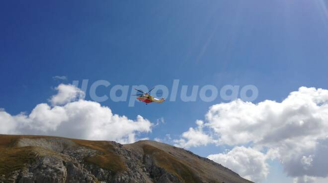 soccorso alpino gran sasso sentiero estivo
