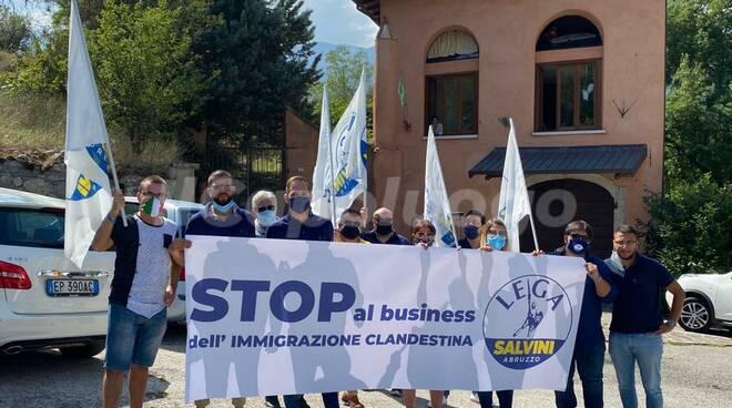 lega protesta migranti