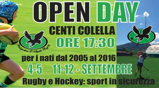 open day rugby hockey