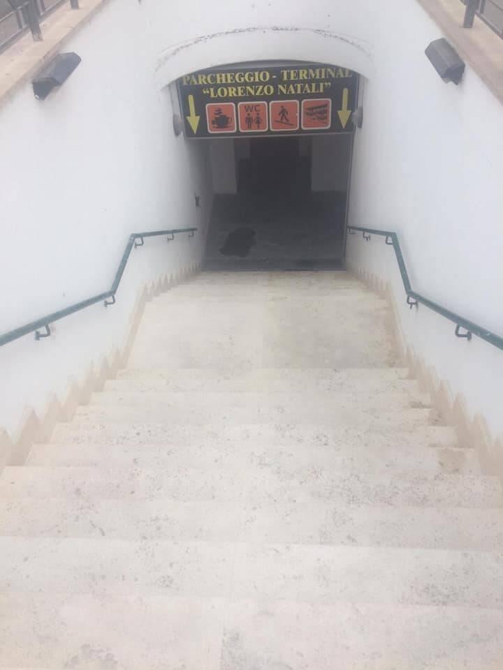 scala tunnel collemaggio