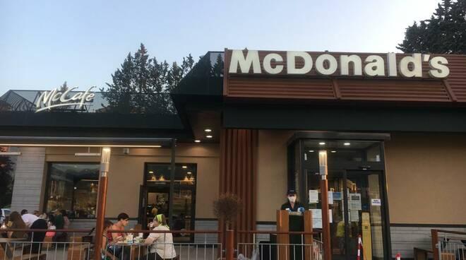 mcdonald's l'aquila