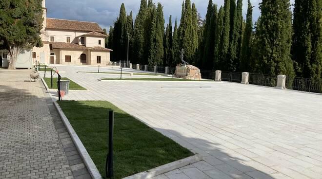 pavimentazione cimitero monumentale