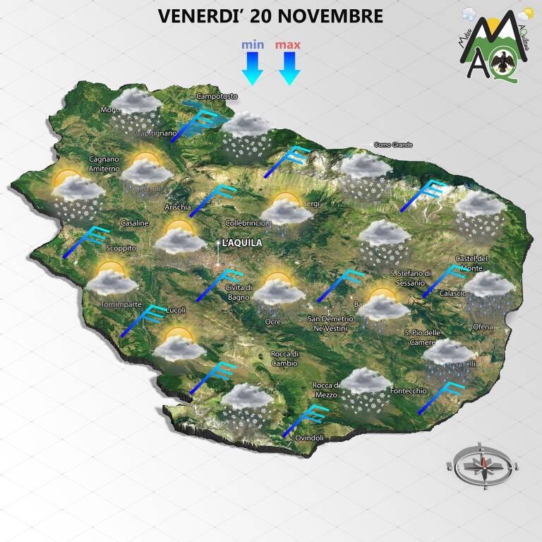 meteo 20 novembre