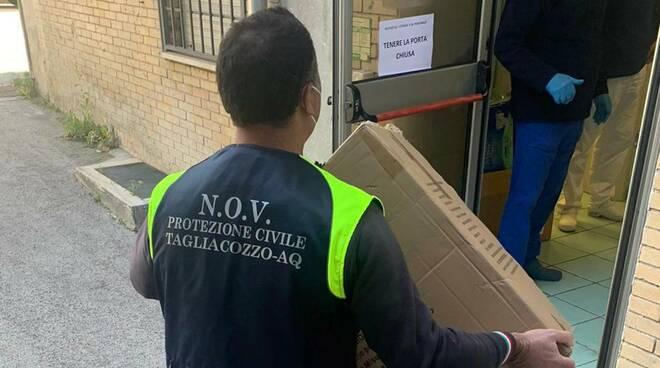 tagliacozzo dpi protezione civile