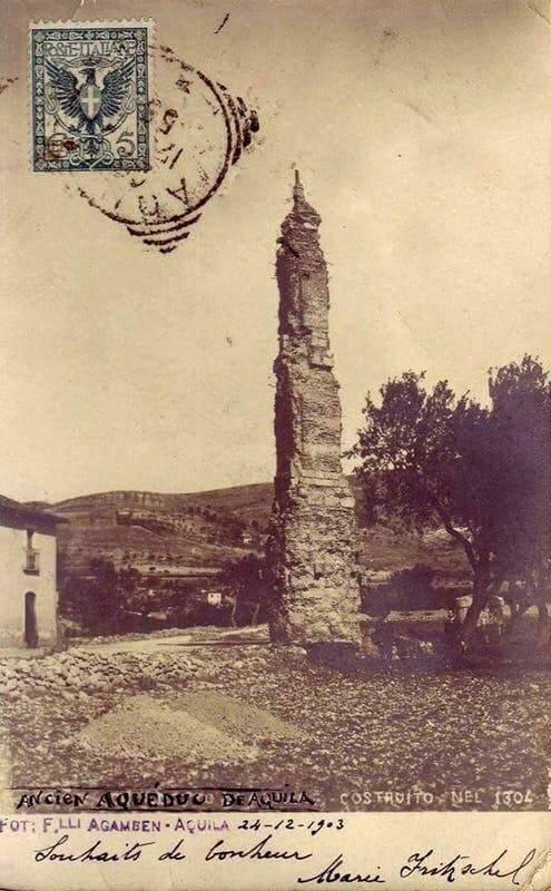 torrione foto storica di inizio 900