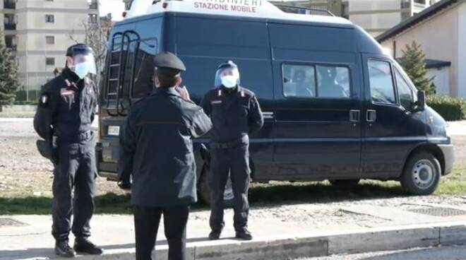 carabinieri covid