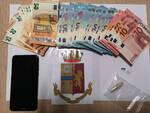 droga soldi sequestro polizia