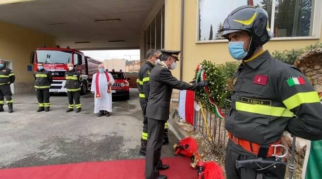 vigili del fuoco santa barbara 2020