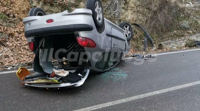 incidente Genzano di sassa 19 dicembre