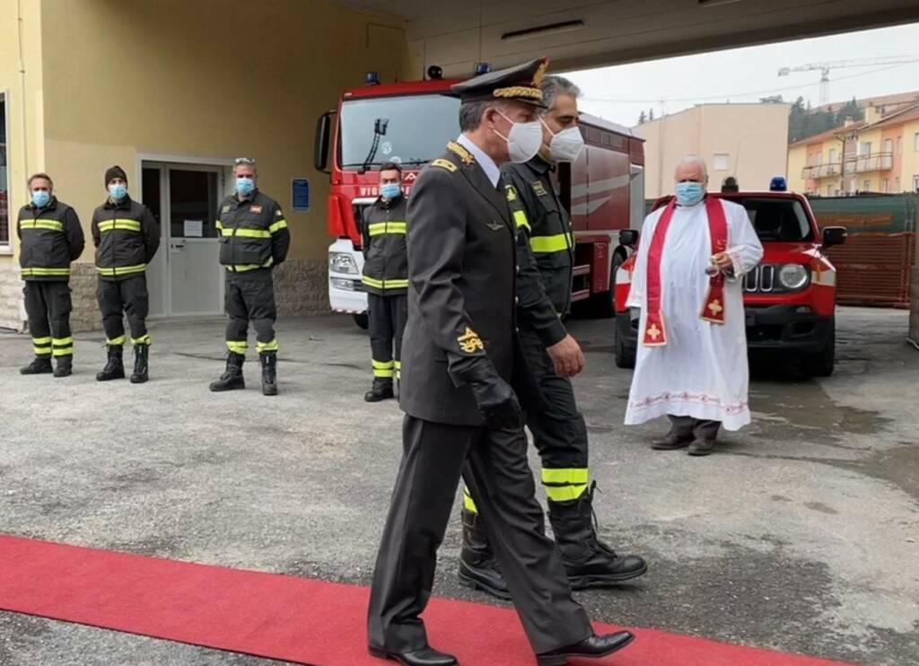 vigili del fuoco santa barbara