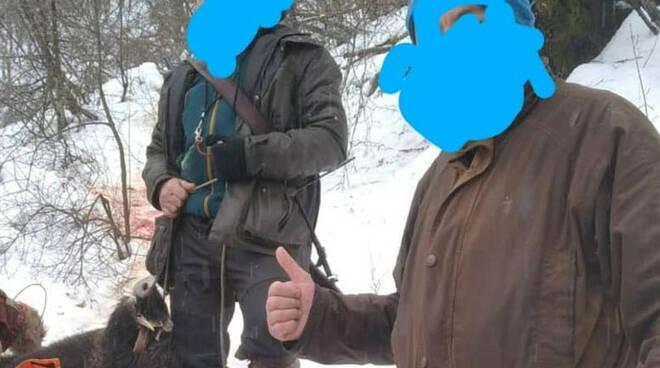 caccia neve