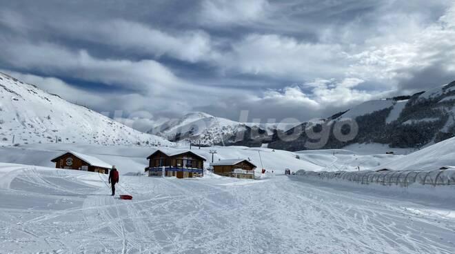 campo felice neve