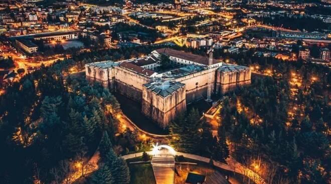 castello drone centro l'aquila mauro pagliai