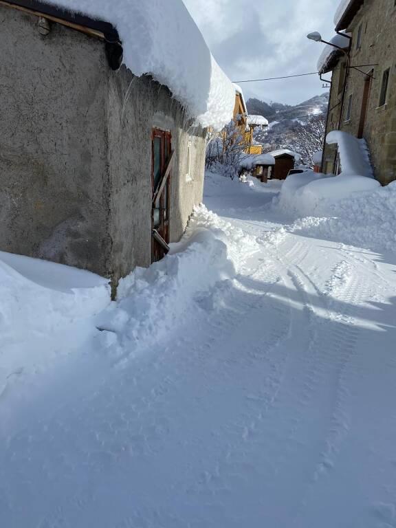 campotosto neve 2021