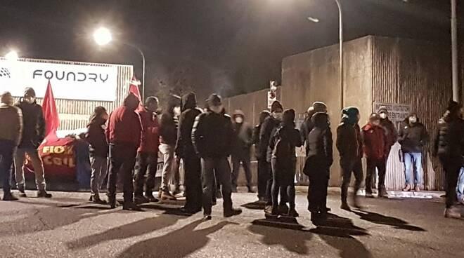 sciopero lavoratori lfoundry