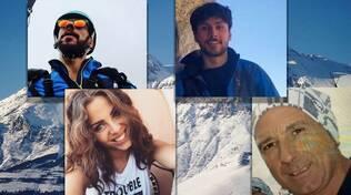 quattro escursionisti dispersi