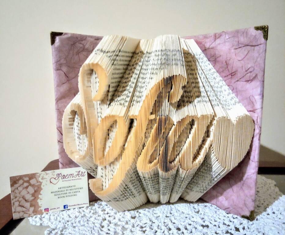 book folding Maria Piera Pacione