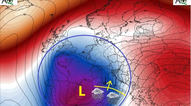 previsioni meteo 2 3 gennaio