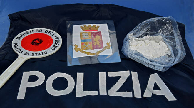 cocaina droga polizia