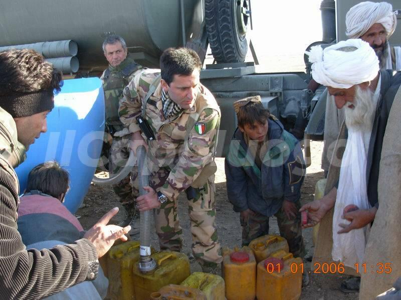 cocciolone afghanistan con capovillaggio