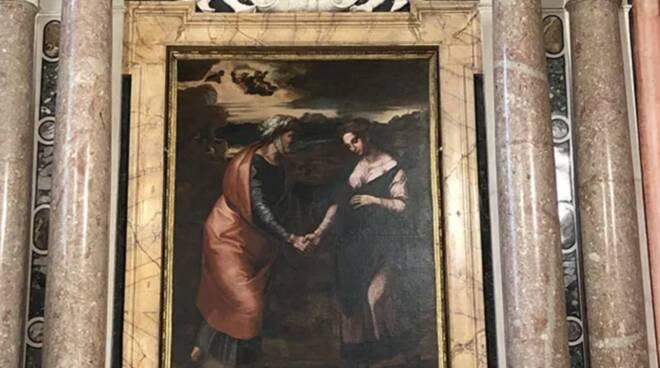 la visitazione Raffaello copia san Silvestro