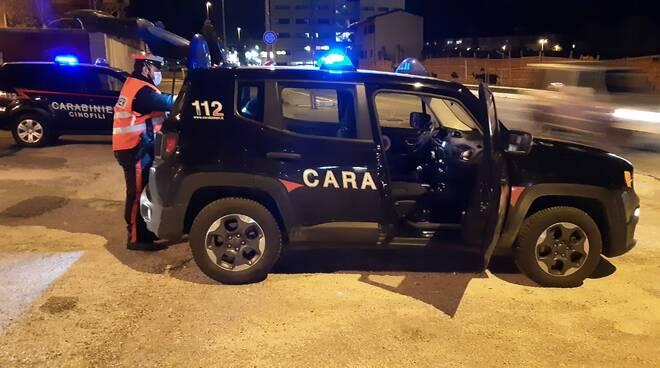 carabinieri notturna