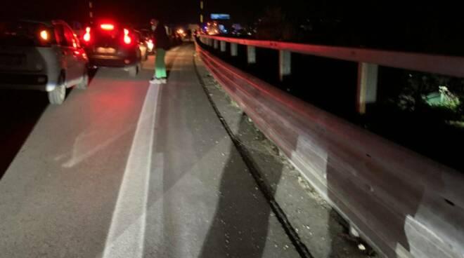 Incidente superstrada capistrello