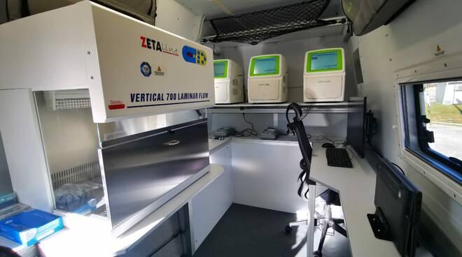 laboratori mobili elital dante labs