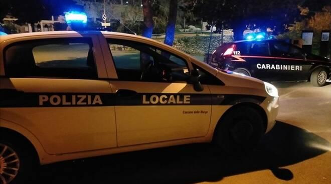 polizia locale e carabinieri