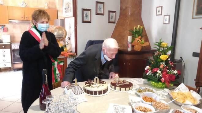 100 anni Domenico d'Ignazio
